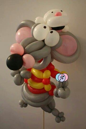 Toopy and binoo balloon #balloonart #balloons #balloondecor