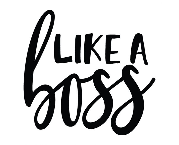 Free SVG cut files - Like a Boss