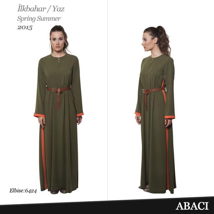 Abacı Uzun Elbise/Long Dress