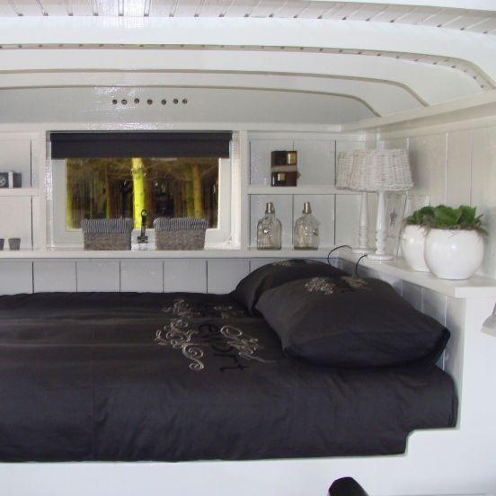 25 beste idee n over woonwagen interieur op pinterest for Hanneke koop interieur