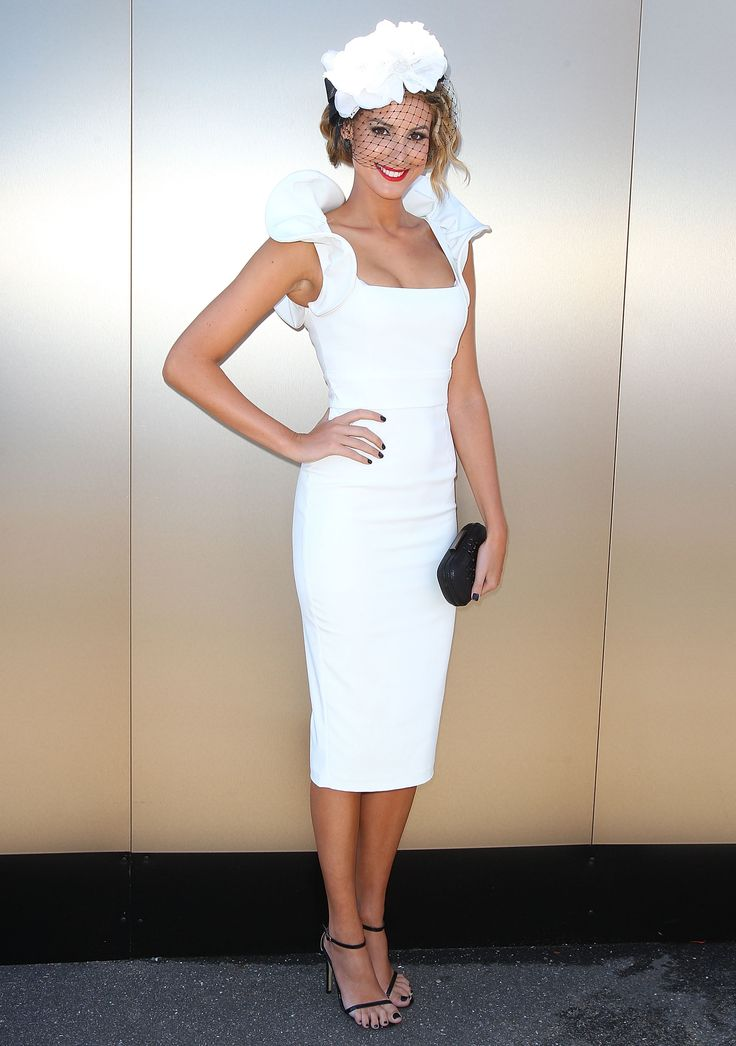 White Cup Day Dress Google Search Race Day Fashion