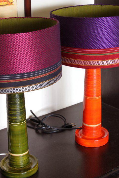 Beautiful Khann Lamps.