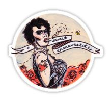 Just a Sweet Transvestite Sticker