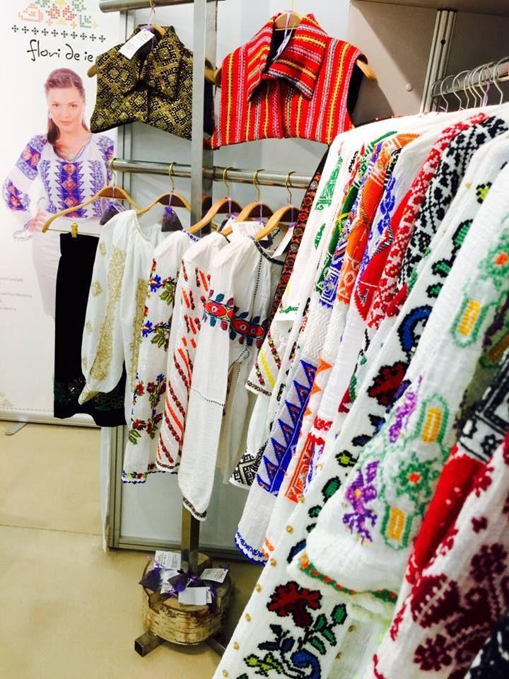 Colorful, unique and elegant..Flori de IE (Flowers of Romanian blouse) had an amazing time at Pure London!  #florideie #purelondon #fashion #style #unique #colorful #romaniandesign