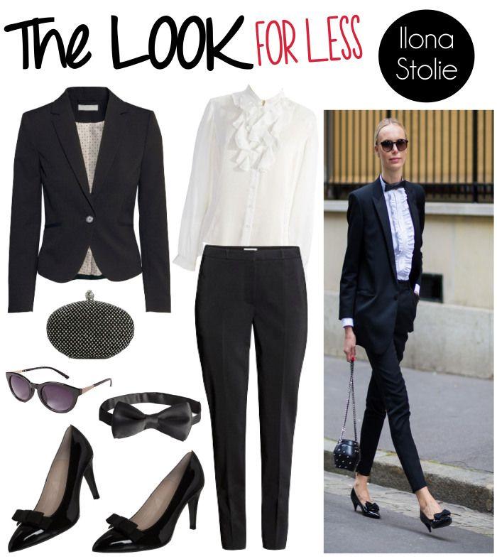 Look For Less: #IlonaStolie | www.fatfreefashion.com #lookforless #style