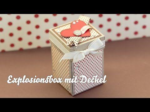 Tutorial - Box mit Deckel - Stampin Up - YouTube