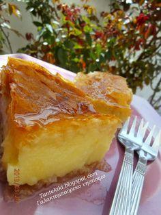 Tante Kiki: Παραδοσιακό γαλακτομπούρεκο ...νηστίσιμο
