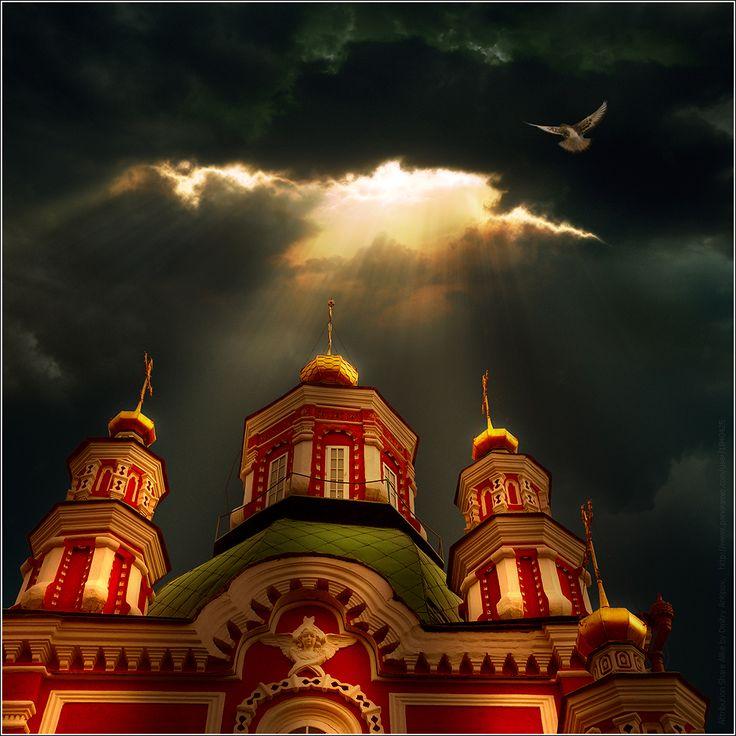 Pokrovsky Cathedral, Krasnoyarsk, Russia