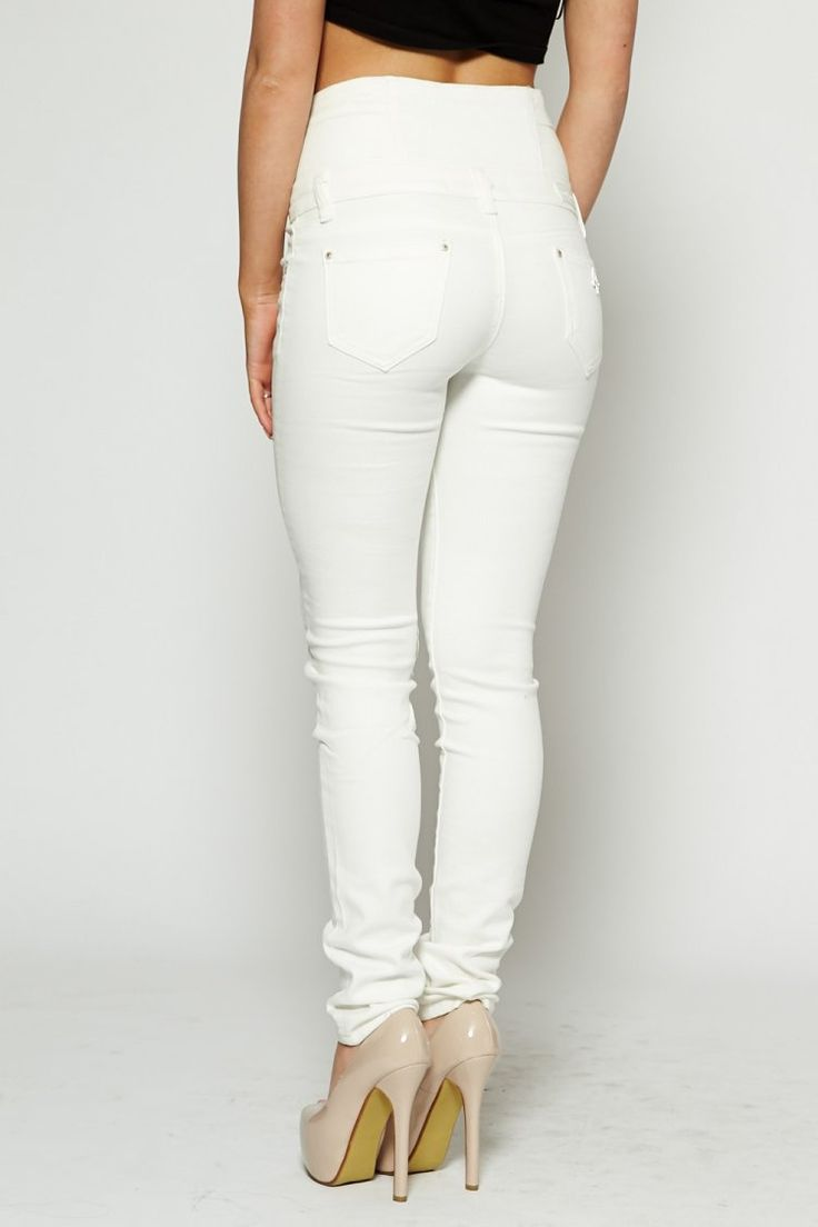 25  best ideas about White Jeans For Women on Pinterest ...