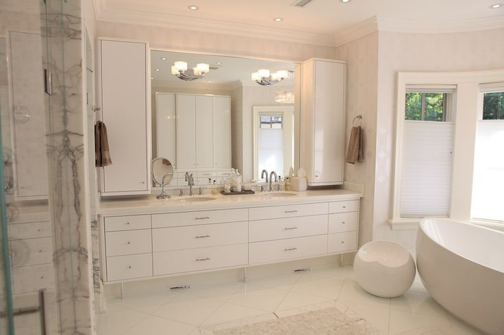 Rita's #luxurybathroom custom built by #PCMInc