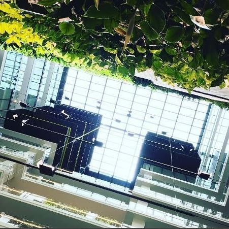 Looking up | Tower Four 📷 @12intentions #collinssquare #melbourne #architecture #design #greenery #workspace #summer #buildingsofmelbourne