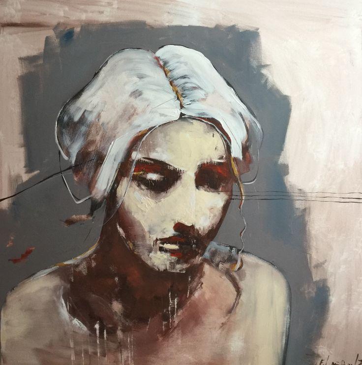 Www.frodelauvsnes.com #acrylic #portrait