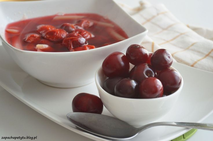 Cherry soup #zapachapetytu #cherry #soup