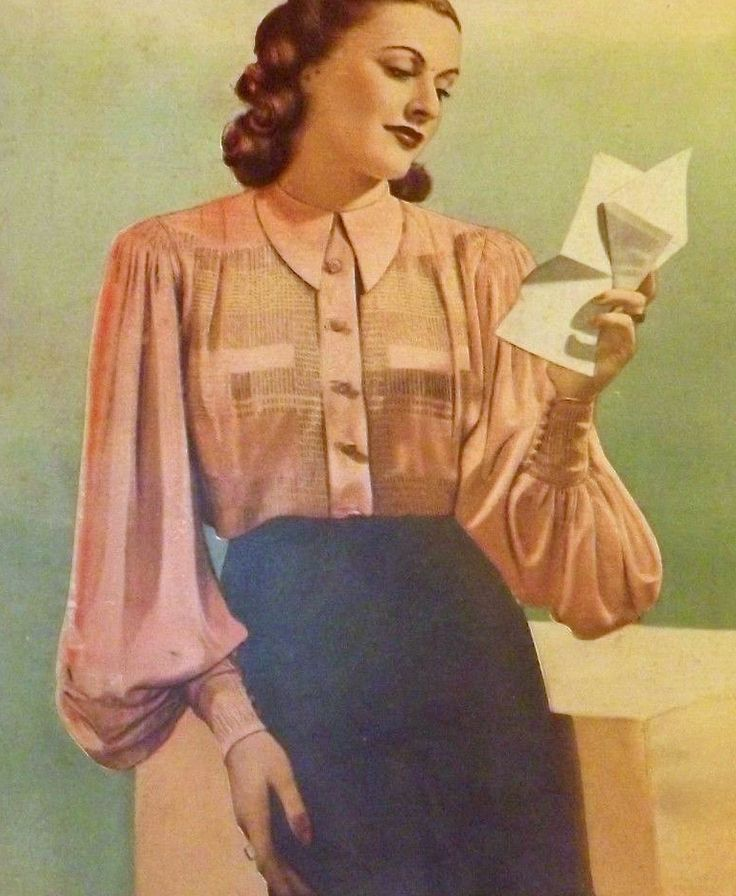 102 best 1940s skirts and blouses images on pinterest