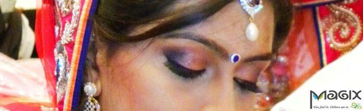 southindian bridal eyemakeup, muhurtham bridal makeover by magixspa