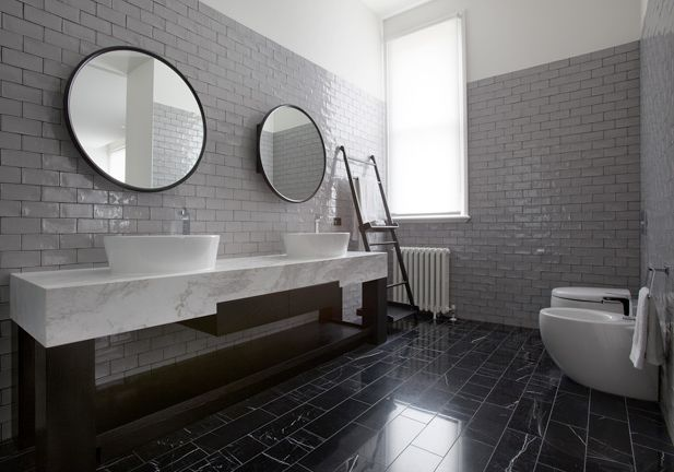 bathroom | the barry street residence | by caia di lizio
