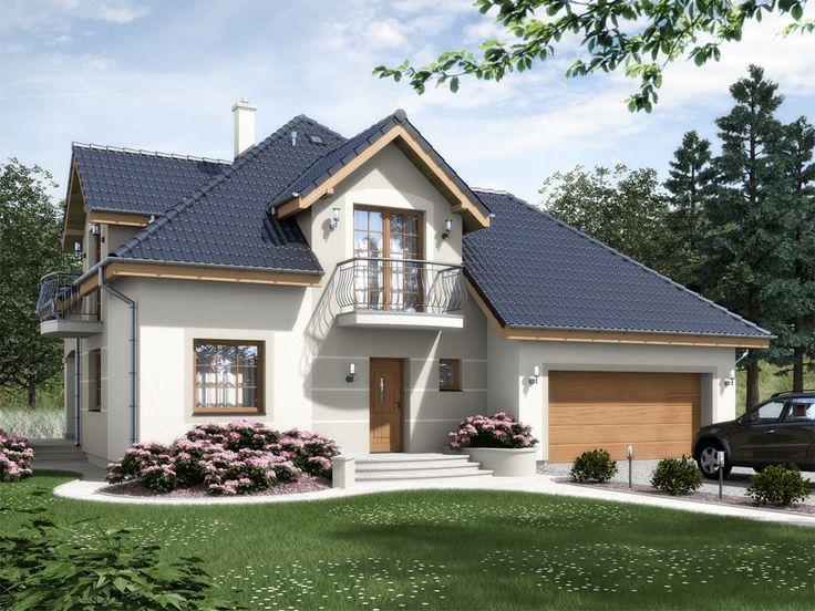 Casă de vis cochetă cu o suprafată de 114 m² Astăzi vă prezentămo casă de vis care nu numai că are un design original si arată foarte bine, dar este de as