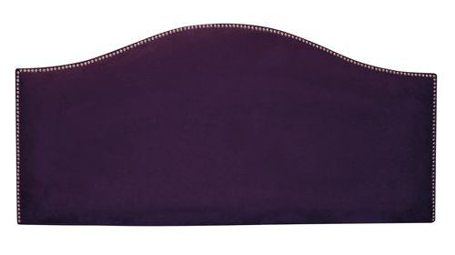 Nailbutton Purple Headboard
