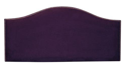 Nailbutton Purple Headboard-- I want it