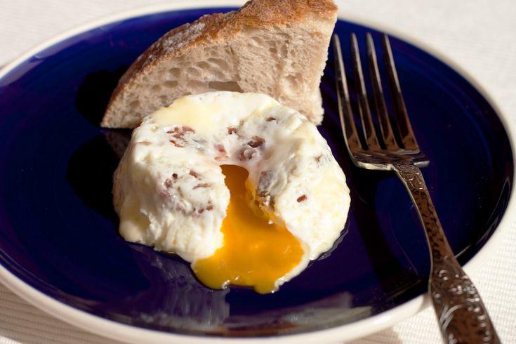 Huevo con jamon y queso en Ovo
