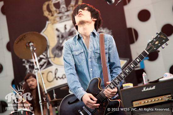 [Champagne]白井眞輝2012/8/10「RISING SUN ROCK FESTIVAL2012inEZO」@石狩湾新港樽川ふ頭横特設ステージ
