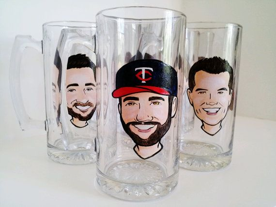 personalized beer glasses groomsmen gifts - Top Groomsmen Gift Ideas for 2014