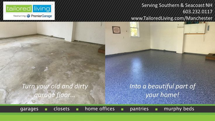 Epoxy Before And After : Best images about garage epoxy floor on pinterest