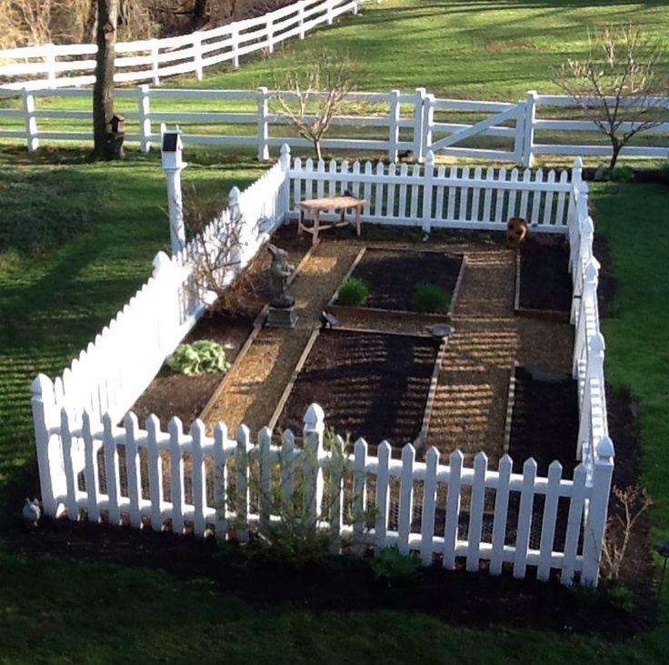 17 best ideas about farmhouse garden on pinterest for Kitchen garden fence