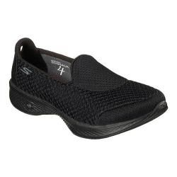 Shop for Women's Skechers GOwalk 4 Kindle Slip On Walking Shoe Black. Get free delivery at Overstock.com - Your Online Shoes Outlet Store! Get 5% in rewards with Club O! - 18887069
