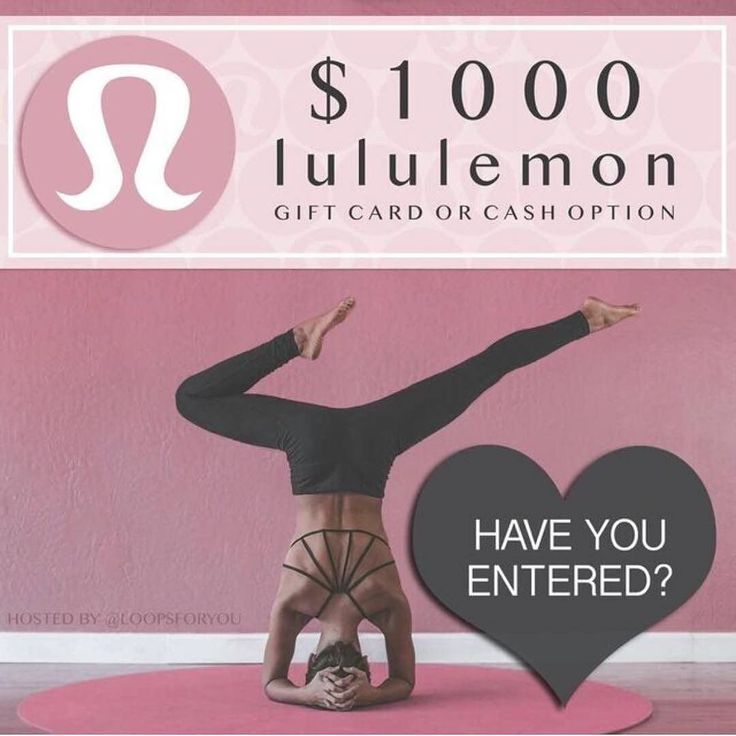 Want to win a $1000 gift card to lululemon or $1000 in cash?! Who wouldn't right? Head to my original post to enter!! Good luck!  . . . . #balance #girlswholift #figure #bikini #bikinibody #bodyweightworkout #fitness #fitmodel #fitnessgoals #workoutwithme #hiit #workout #battleropes #workoutanytime #anytimeanywhere #healthloving #workoutmotivation #wehappyfew #yogalover #yoga #abs #steam #instagood #boho #lululemon #bikinimodel #motivation #healthyeating #bodybuilding #bodybuilder