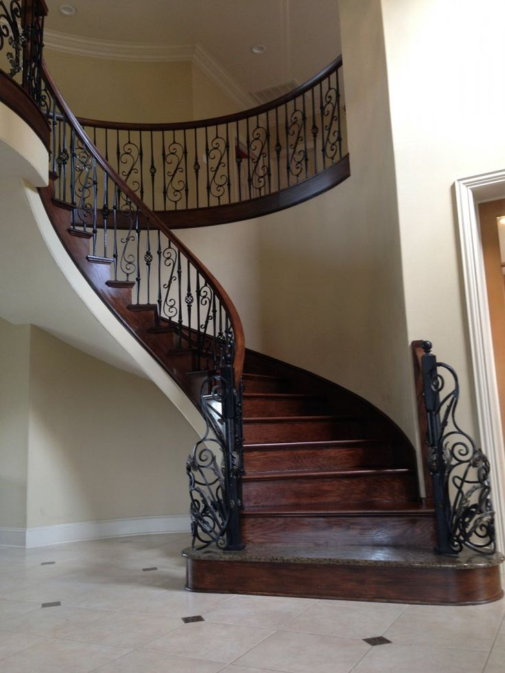 The Hubenak Residence 62 best grand staircase