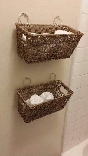 bathroom baskets. Bathroom Storage Ideas Woven Basket Recycled style Cheap tricks DIY a Best 25  baskets ideas on Pinterest Small bathroom