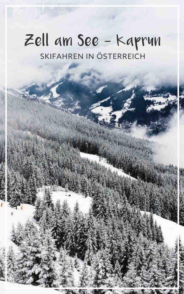 Skifahren und Rodeln in Zell am See - Kaprun in Österreich. Unser Winter am Kitzsteinhorn.