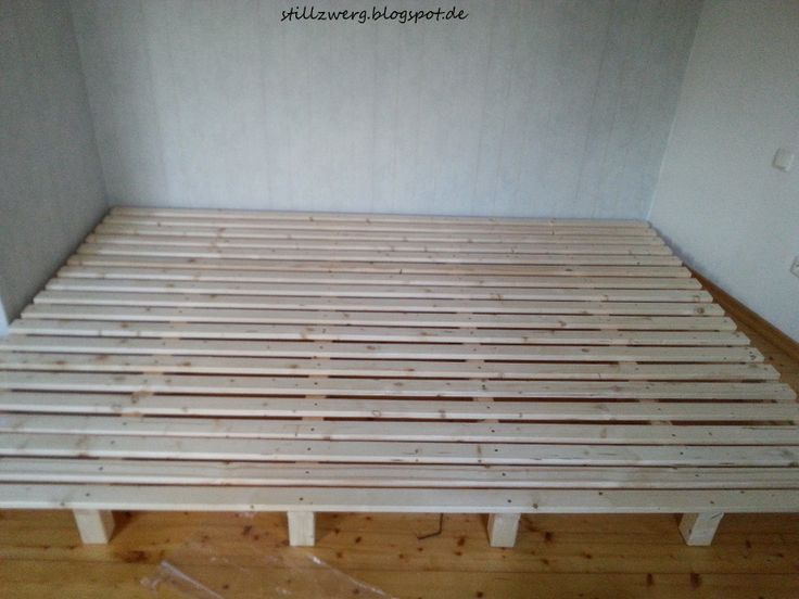 Familienbett bauen, DIY Bett bauen, Wir bauen ein