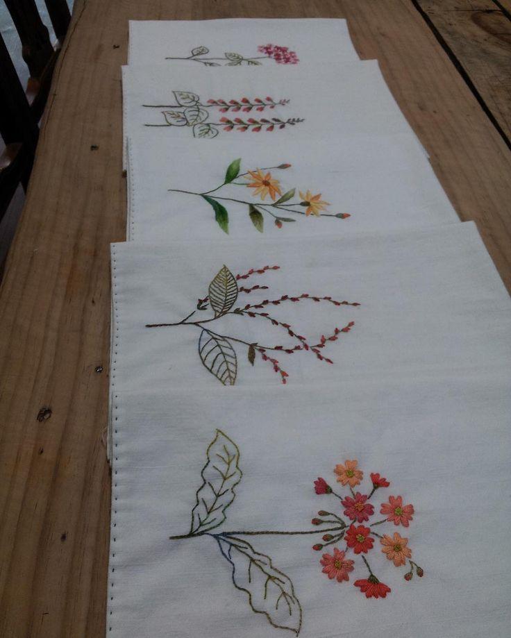 #야생화자수 #프랑스자수 #handembroidery #handmade #embroidery