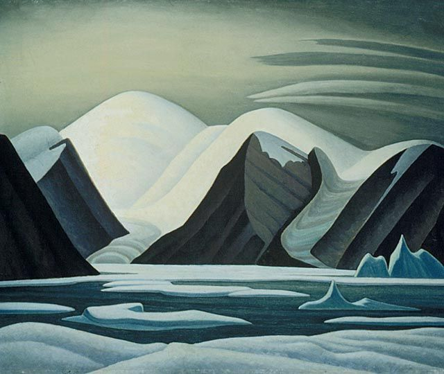 Greenland Mountains, c1930 by Lawren Harris