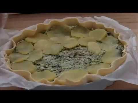 Quiche senza uova con rape ricotta e patate I Sapori di Ethra