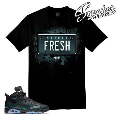 All star retro 6 tee match Jordan shoes | Sneaker tees