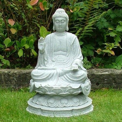 Granite Thai Buddha Statue - Large Garden Ornaments