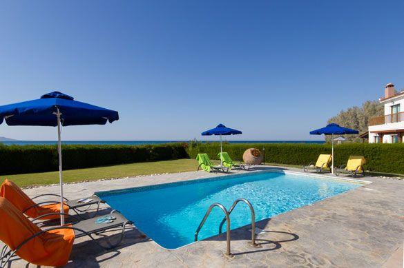 Villa Demetrios Blue Bay, Polis, Cyprus. Find more at www.villaplus.com