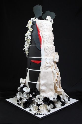 Cake By Deja Vu Cakes As Featured On Partybravo Persian Wedding CakesCustom CupcakesBirthday CakesLos A