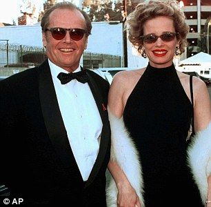 Jack Nicholson and wife Rebecca Broussard in 1998