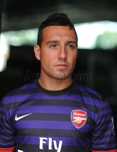 Santi Cazorla, shortly after signing for the club. #Arsenal