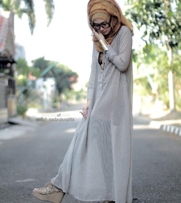 stunning outfit masaAllah!