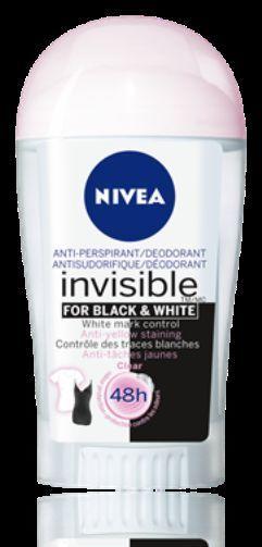lot 3 deodorants homme nivea invisible black & white 50ml neuf