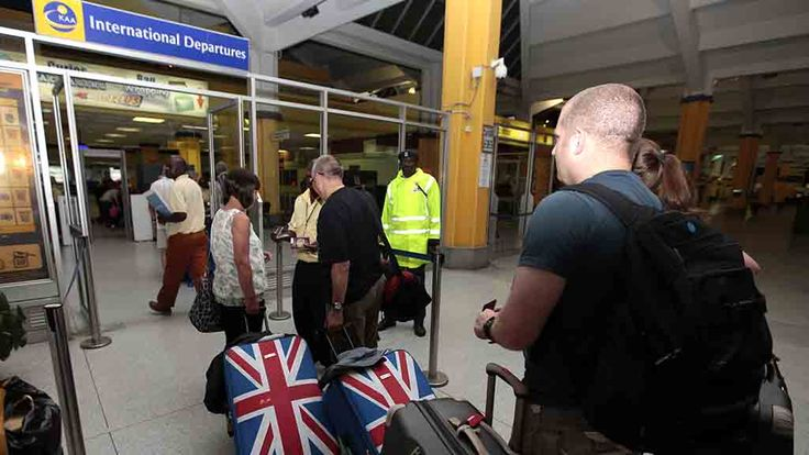 UK Issues worldwide terrorism warning for British tourists -- - See more at: http://pamelageller.com/2014/11/uk-issues-worldwide-terrorism-warning-for-british-tourists.html/#sthash.uk4MnMlm.dpuf British tourists queue at the departure gate as they are being evacuated at Moi International Airport in Mombasa