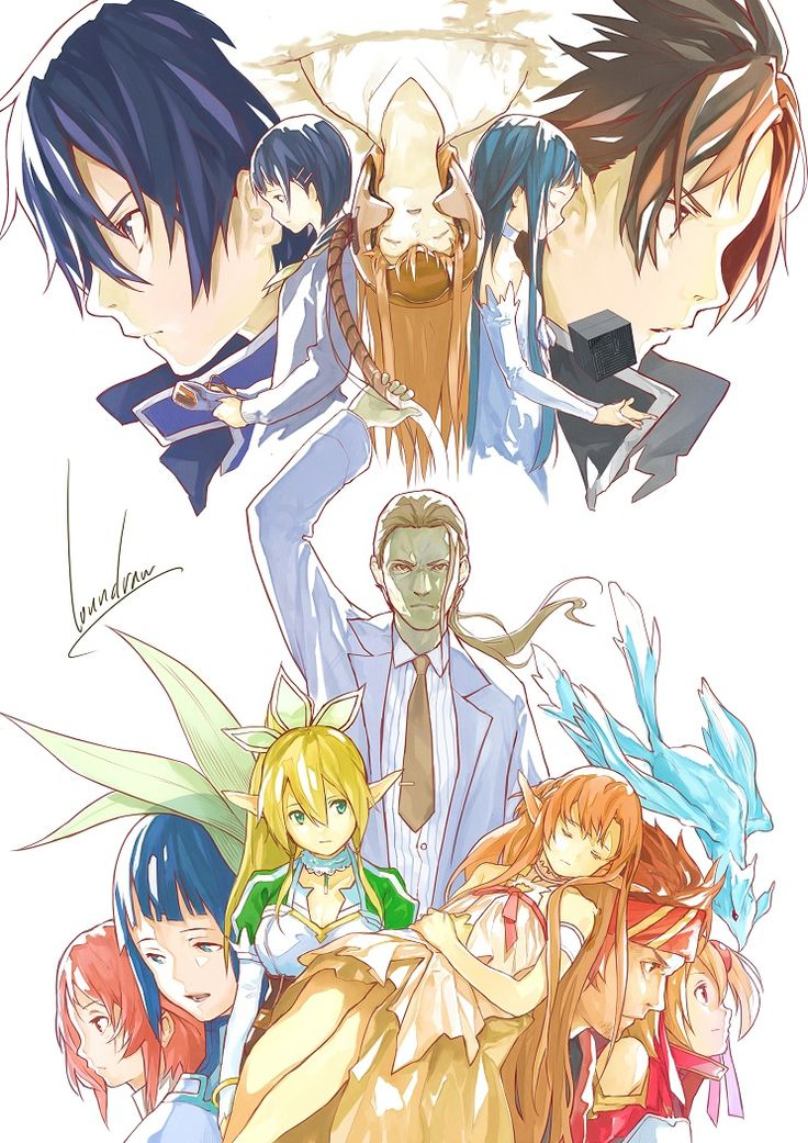 Sword Art Online - Image Thread (wallpapers, fan art, gifs, etc.) - Page 86 - AnimeSuki Forum