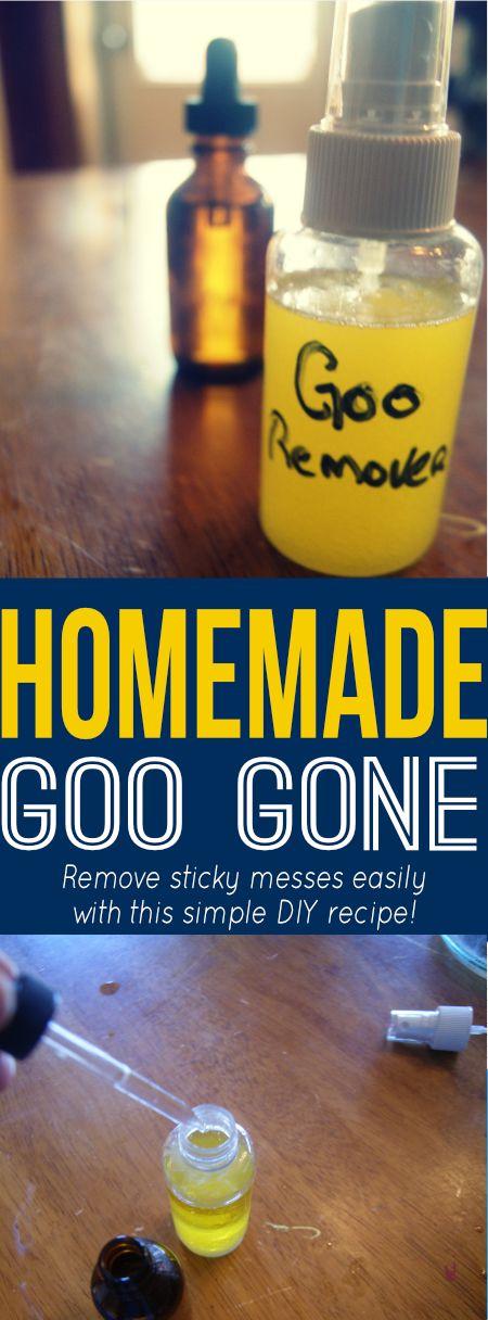'Homemade Goo Gone...!' (via Savings Lifestyle)