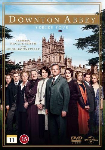 Downton Abbey - Kausi 4 (3 disc) (DVD)