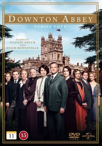 Downton Abbey - Kausi 4 (3 disc) (DVD)